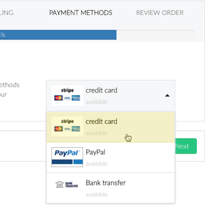 Handwritten Direct Mail with Pensaki.com Campaign payment options