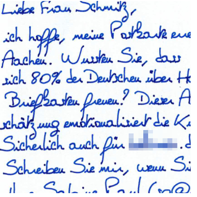 Pensaki Standard Handschrift Paris