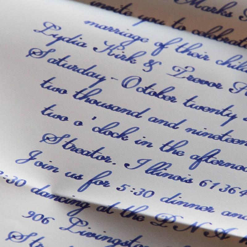Kalligrafie Roboter Handschrift