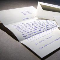 Handgeschriebener Brief A4 1000 Alex Standard